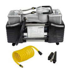 Load image into Gallery viewer, Portable Heavy Duty Dual Cylinder Air Pump Air Compressor