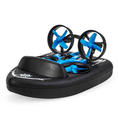 3 In 1 RC Vehicle Flying Drone Land Driving Boat
