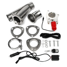 Load image into Gallery viewer, Electric Exhaust Valves Catback Downpipe Systems Kit