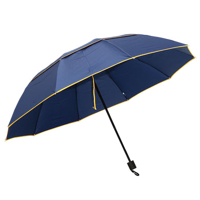 Anti-UV Camping Sunshade Portable 3 Folding Umbrella
