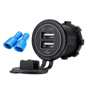 4.8A Dual USB Car Charger