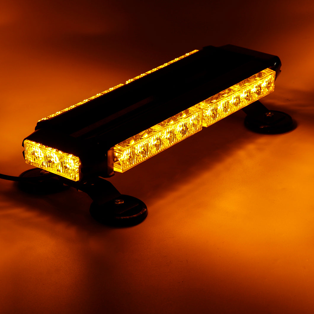 12V 30W Car LED Roof Strobe Light Bar