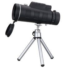 Load image into Gallery viewer, 40X60 Monocular Optical HD Lens Telescope + Tripod + Mobile Phone Clip