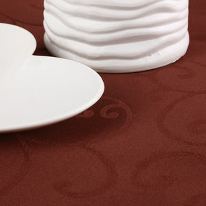 180cm Polyester Absorbent Round Tablecloth
