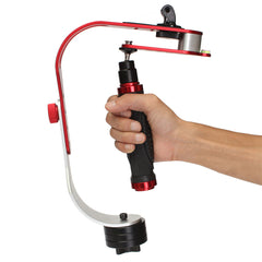 Handheld Video Stabilizer With Go-pro Adapter