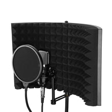 Load image into Gallery viewer, Portable Sound Absorbing Shield Vocal Recording Panel Foam