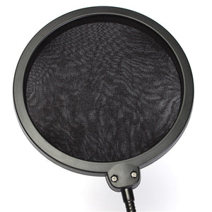 Double Layer Studio Microphone Wind Screen Mask