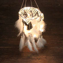 Load image into Gallery viewer, LED Light Tassel Dream Catcher