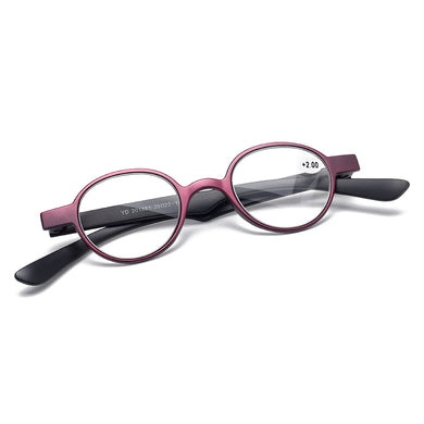 Anti-fatigue Round Frame Reading Glasses