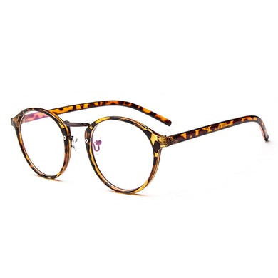 Clear Lens Metal Glasses Vintage Frame