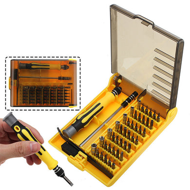 45 in 1 Portable Multifunction Screwdriver Tool Set