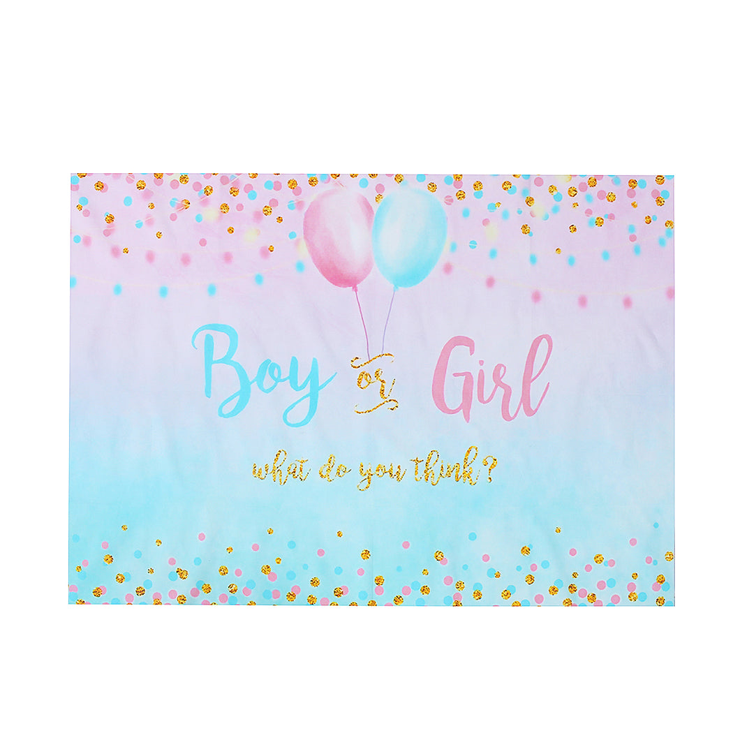 Gender Reveal Photography Backdrop