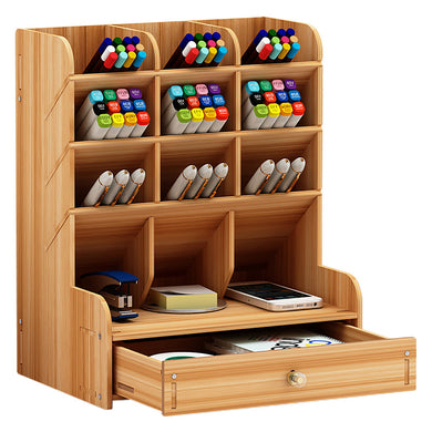 Pencil Pen Holder Storage Box
