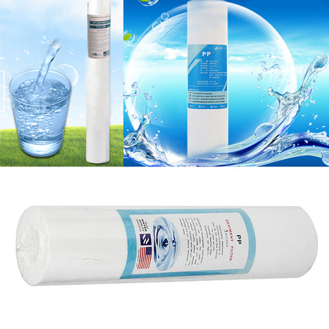 Water Purifier Sediment Granular PP Filter Element Roll Cartridge