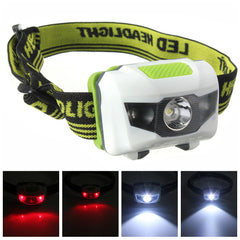 4 Models Super Bright Mini Headlamp