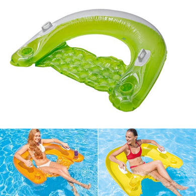 Inflatable Seated Floating Row