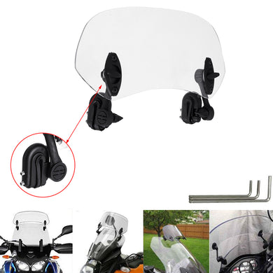 Universal Adjustable Clip On Transparent Windshield