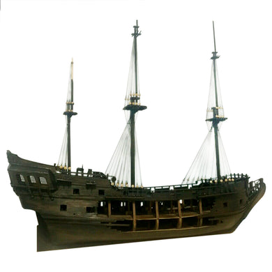 DIY Black Pearl Ship Model Building Kit