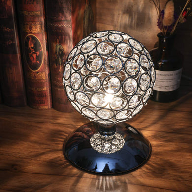 Modern Crystal Ball Table Lamp Night Light