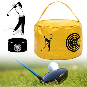 Golf Impact Power Bag Swing Aid Practice