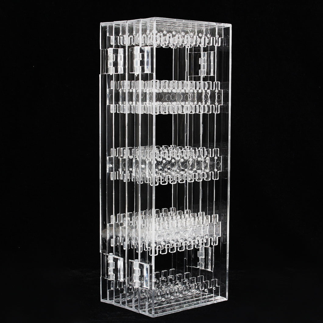 256 Holes Plastic Earring Holder