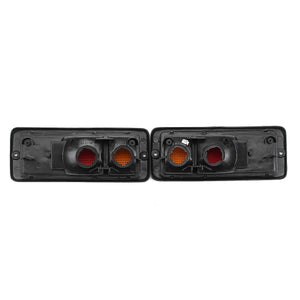 Pair Halogen Car Rear Tail Light Shell Left+Right Lamp