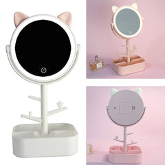 Adjustable LED Makeup Mirror
