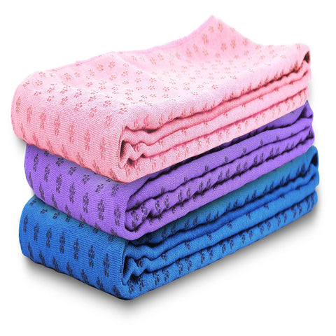Microfiber Anti-Slip Yoga Towel - Zalaxy
