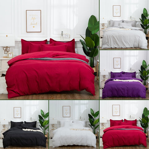 Bedding Quilt Duvet Cover with Pillow Case