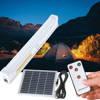 Solar Powered 30 LED Light Bar With Remote Control