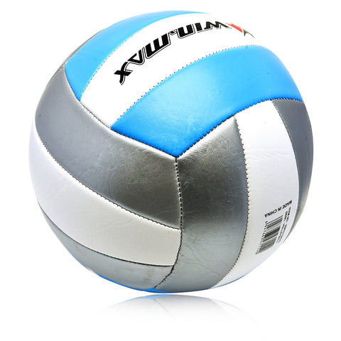 2MM PVC Machine Stitched Rubber Official Size 5 Volleyball - Zalaxy
