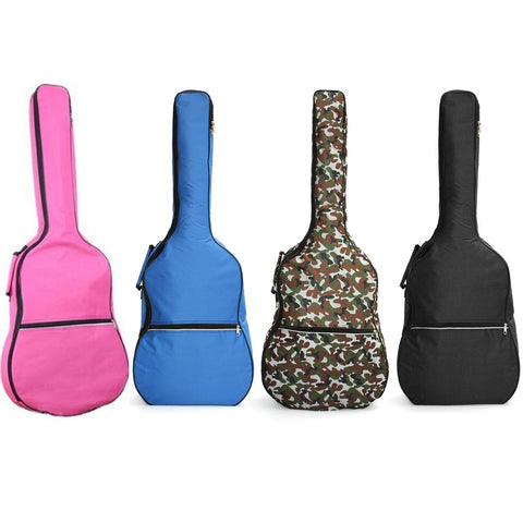 39 40 41 Inch Double Straps Padded Waterproof Acoustic Guitar Bag