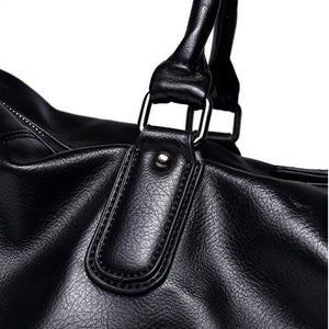 Leather Vintage Duffle Luggage