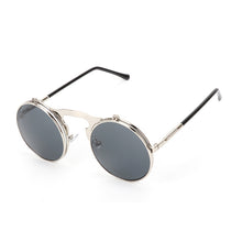 Load image into Gallery viewer, UV400 Metal Frame Flip Sunglass