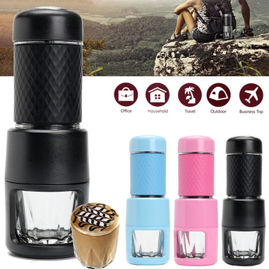 Portable Espresso Coffee Maker Travel Handheld