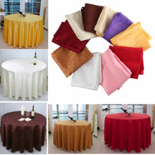 Load image into Gallery viewer, 180cm Polyester Absorbent Round Tablecloth