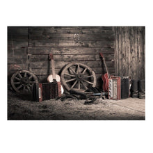 Load image into Gallery viewer, 7x5ft Vintage Grunge Farm Room Thin Vinyl Photography Backdrop Background Studio Photo Prop
