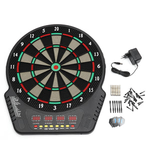 Electronic Soft Tips Dart Board Set