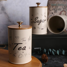 Load image into Gallery viewer, 3PCS Retro Tea Coffee Sugar Storage Jar