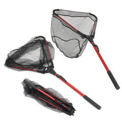 Triangular Folding Handle Fishing Landing Net
