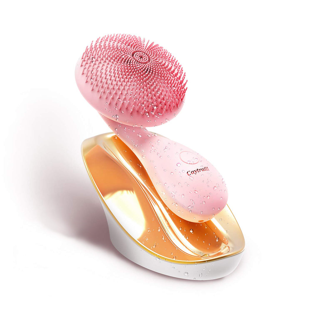 Silicone Ultrasonic Facial Cleansing Brush