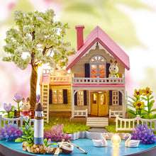 Load image into Gallery viewer, DIY Music Box Dollhouse Handmade