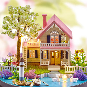 DIY Music Box Dollhouse Handmade