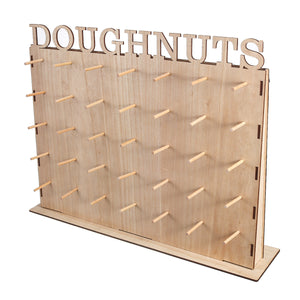 50x40 DIY Wooden Donuts Wall Stand