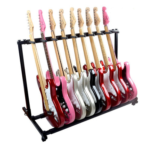 9 PCS Electric Guitar Stand - Zalaxy