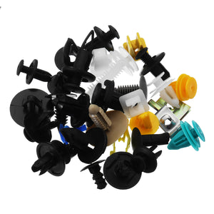 500Pcs Mixed Auto Car Fastener Clip Bumper