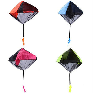 Kids Hand Throwing Parachute Toy