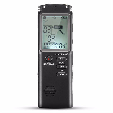 8GB Portable Rechargeable  Audio Recorder Dictaphone