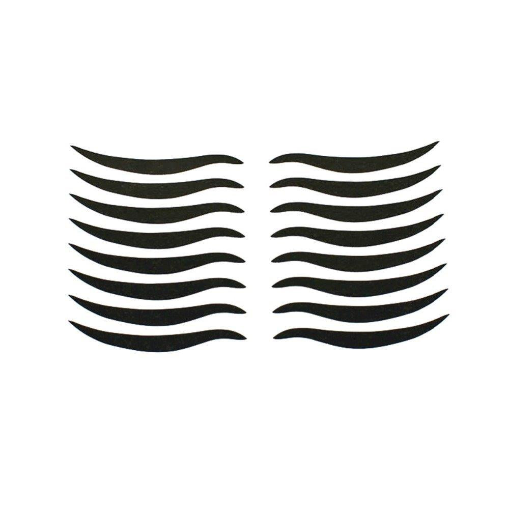 8 Pairs Black Eyeliner Double Eyelid Sticker
