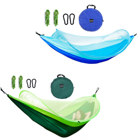 Double Hammock with Net